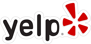 Logo of Yelp at Florida Keys Vacation Rentals