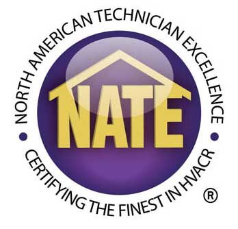 Nate Certified Logo - Air Conditioning Repair Certification