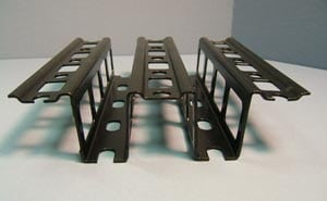 Stamping Process - Fairing Support Rail Cross Section