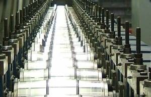Roll Forming Line of Die Stations