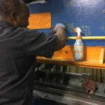 cleaning roll forming machine