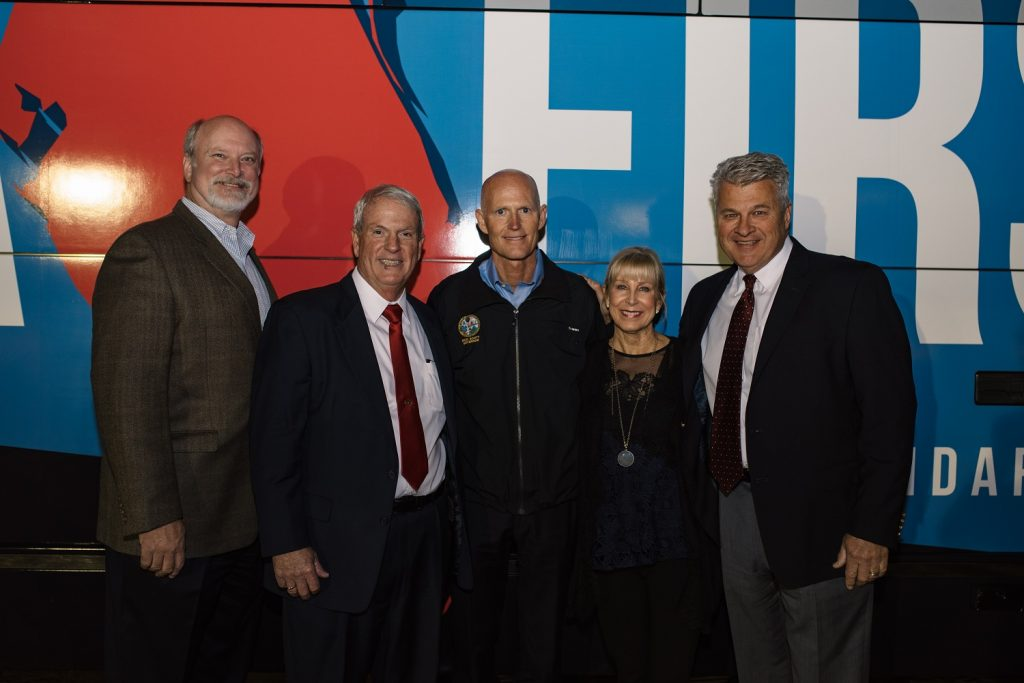 """Vac-Con, Inc. recently hosted Florida Governor, Rick Scott, at a stop on his """"Million Miles for a Million Jobs Tour."""""""