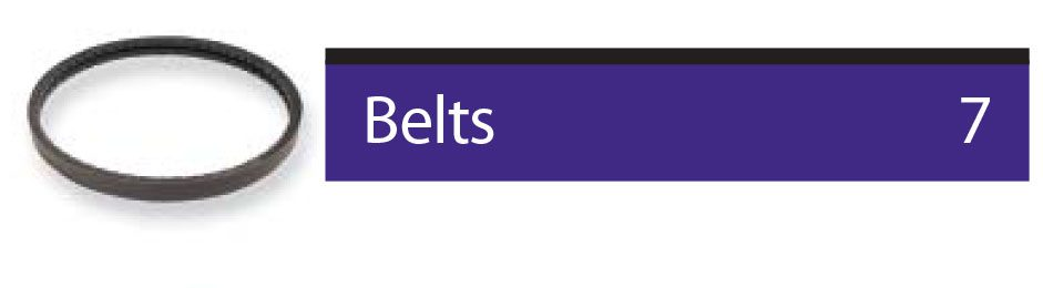 find parts related to belts