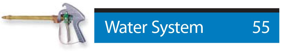 find parts related to water system