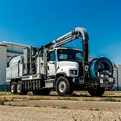 Single Engine Combination Machine Vacuum Truck
