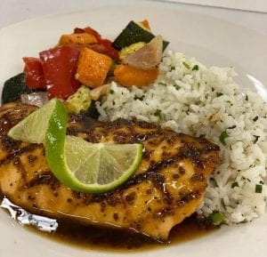 salmon-with-rice
