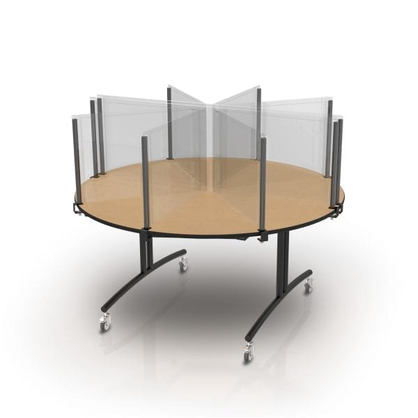 Table Top Safety Dividers for Covid