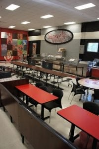 K-12 Education Cafeteria Tables and stools