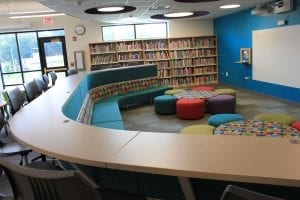 library collaboration furniture