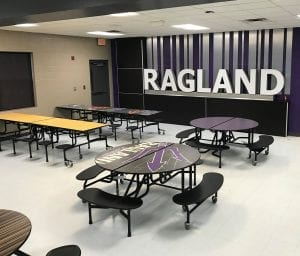 K-12 Education Cafeteria Tables and Chairs