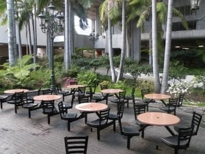 Covey Outdoor table and chairs