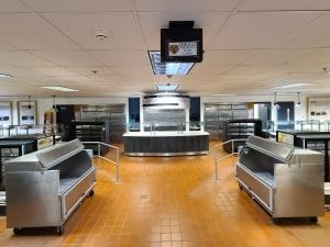 Cafeteria / Lunchroom Utility counters