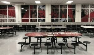 PH Design Cafeteria Tables and Chairs