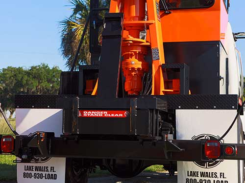 RS3 Rear Steer Grapple Loader Features