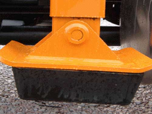 TL3 Trash Truck Grapple Loader Pads